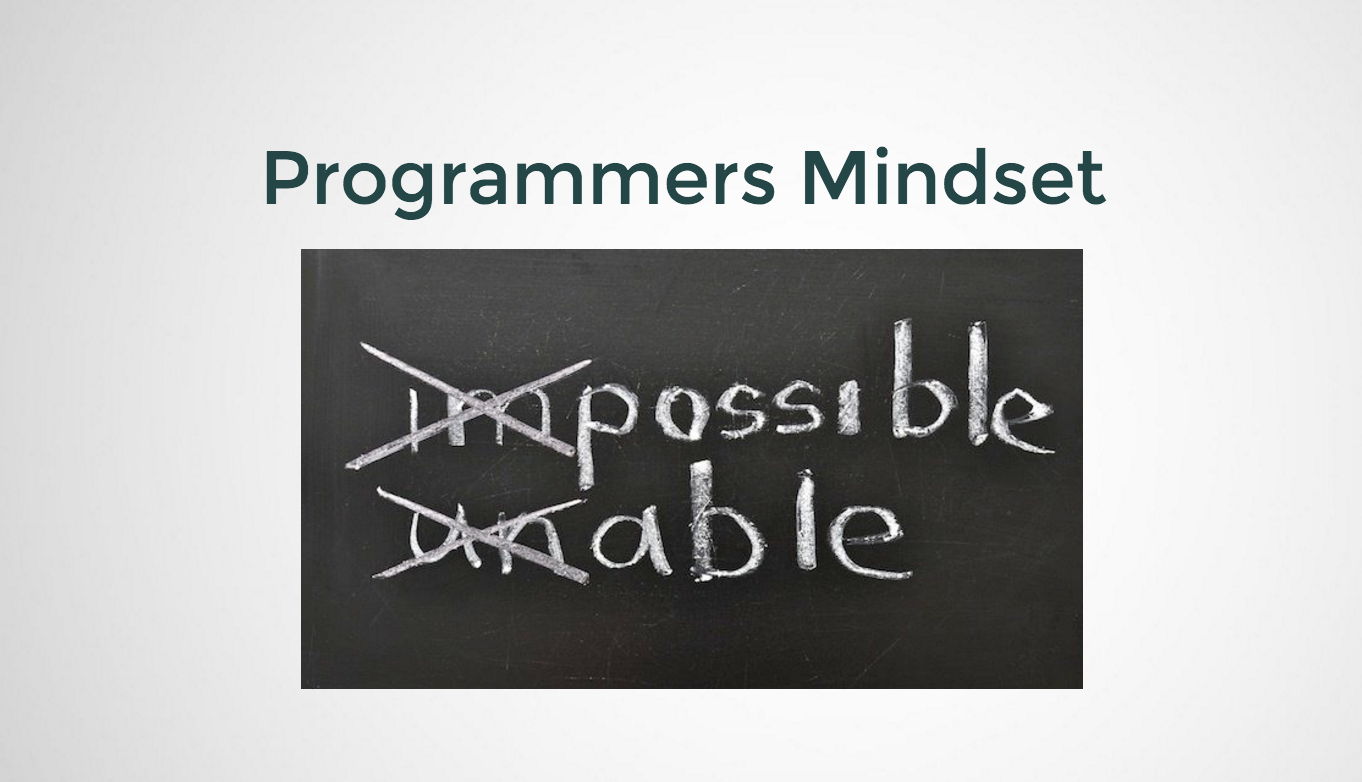 The Programmers Mindset